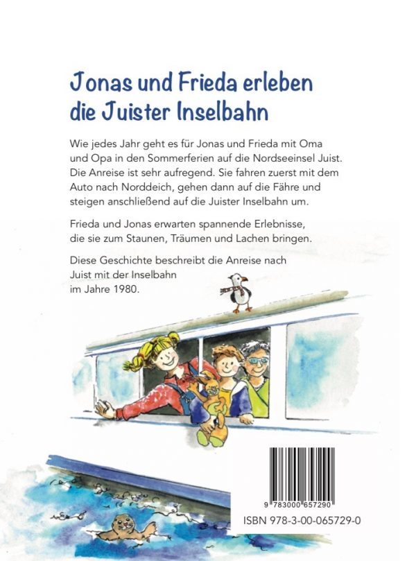 Jonas und Frieda erleben die Juister Inselbahn